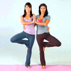 Partner Tree Pose