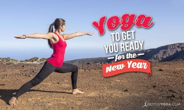 5 Yoga Poses to Get You Ready for the New Year