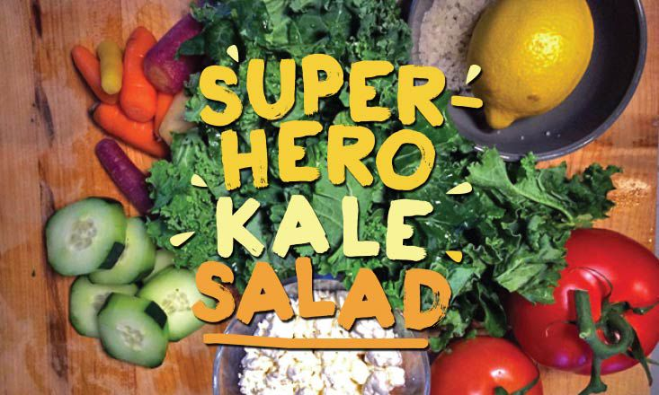 Recipe: The Ultimate Quick Superhero Kale Salad