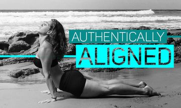 Authentically Aligned: Upward-Facing Dog