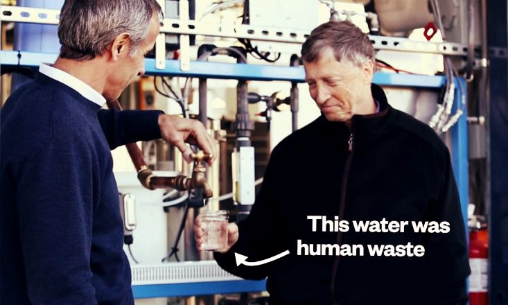 The Awesome Machine That Turns Waste Into Drinking Water