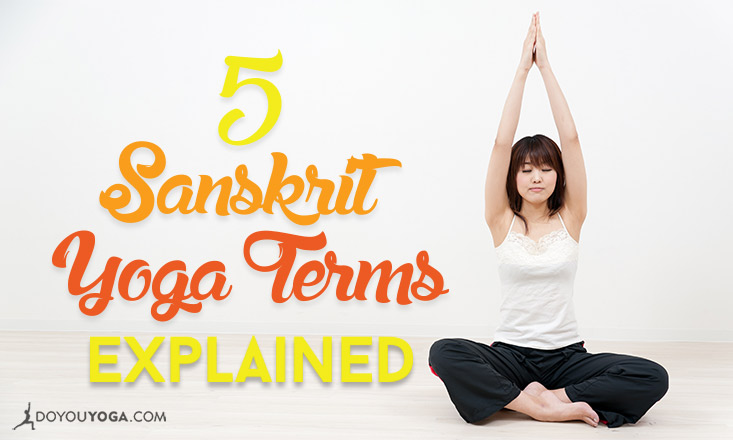 The Language of Yoga 5 Sanskrit Yoga Terms Explained