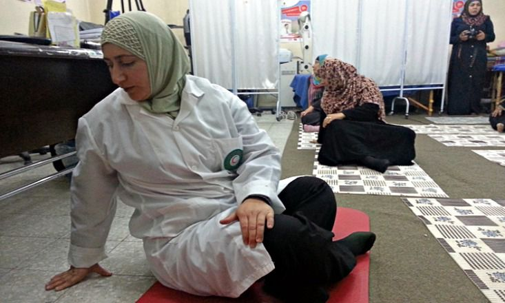 How Yoga Is Healing the Wounds of War in the Gaza Strip