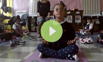 How Yoga and Mindfulness Are Impacting Lives at a Girls' School in the Bronx (VIDEO)