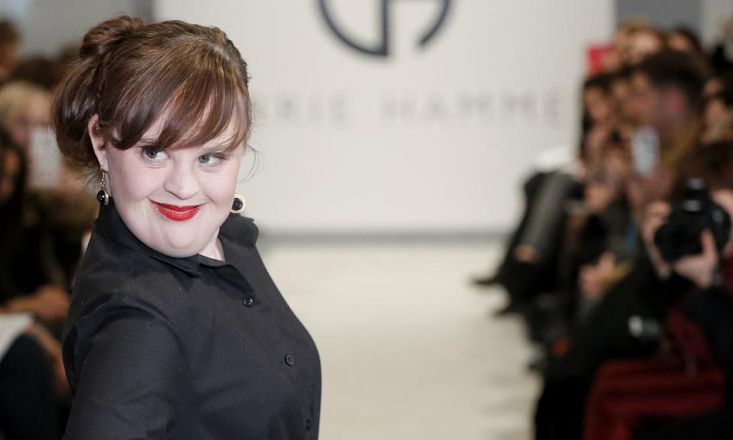 The First Model With Down Syndrome to Walk the New York Fashion Week Runway