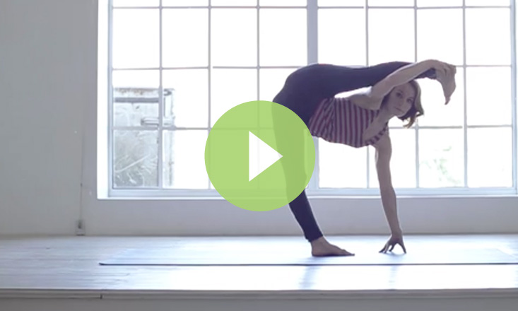 Gorgeous Gymnastic Yoga Sequence (VIDEO)