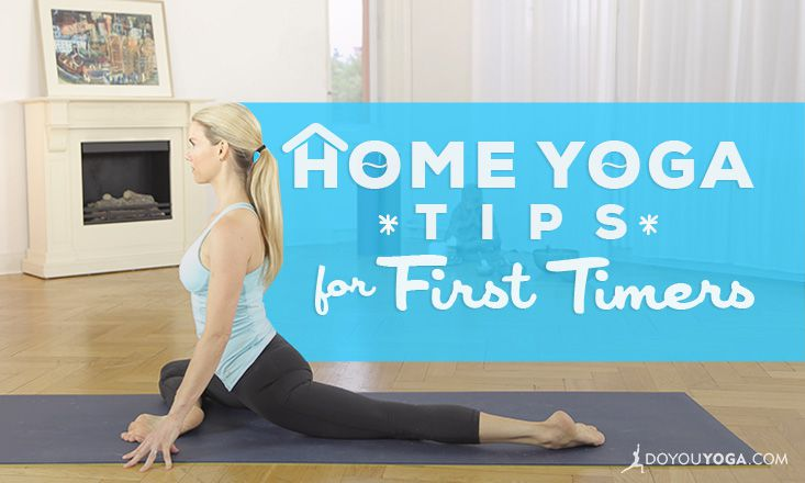 Home Yoga Practice Tips for First Timers