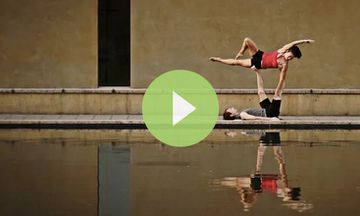 Light as a Feather: AcroYoga Demo (VIDEO)