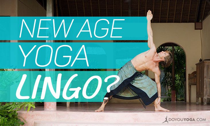 On New Age Yoga Language