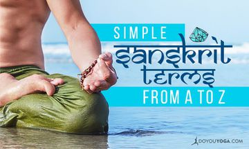 Simple Sanskrit Terms From A to Z