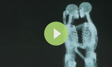 Viral: These Hugging and Kissing Skeletons Teach Us Something About Love (VIDEO)