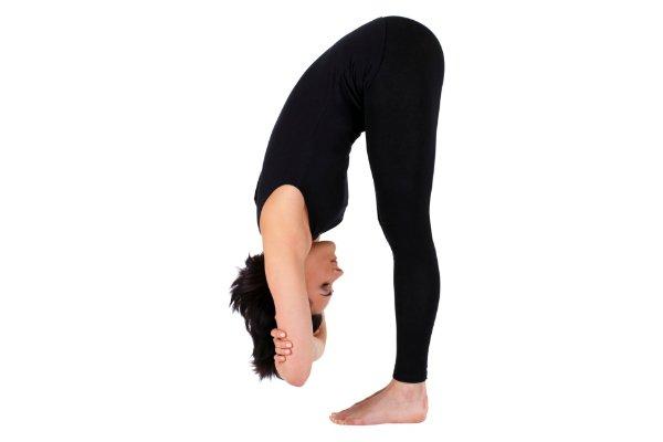 Yoga Period Pain Cramps - Forward Fold