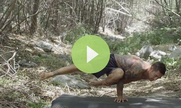 A Yoga Demo That Goes 'Beyond Balance'
