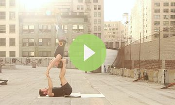 Amazing AcroYoga Sequence by a Real-Life Couple (VIDEO)
