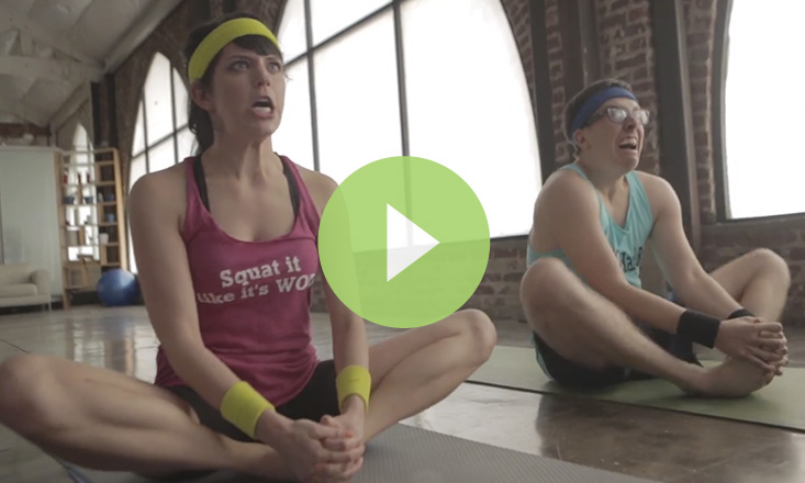 Funny- This is What Happens When CrossFitters Do Yoga (VIDEO)