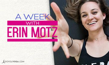 Join Me, Erin Motz, This Week on DOYOUYOGA!