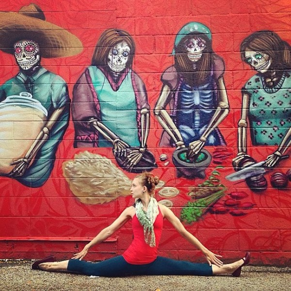 Soren Buchanan, Street Art Yoga