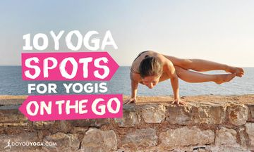 10 Places to Practice Yoga While Traveling