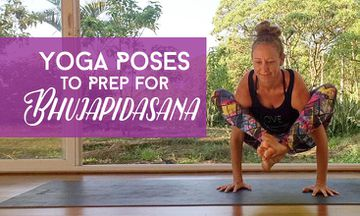 3 Yoga Poses to Prepare for Shoulder-Pressing Pose or Bhujapidasana