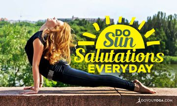 5 Reasons to Do Sun Salutations Every Day