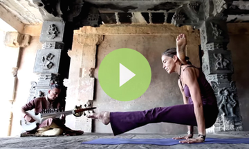 Ashtanga Meets Raga, Beauty Ensues (VIDEO)