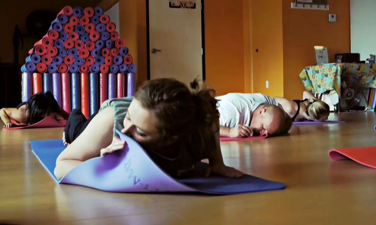 Breathe Deep and Smell the...Scented Yoga Mats?