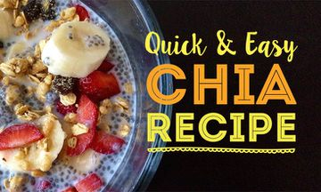 The Easiest Mighty Chia Breakfast Or Snack (RECIPE)