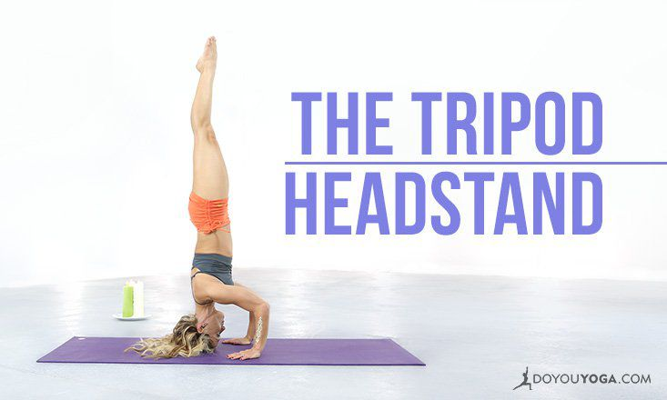 Yoga Pose Breakdown With Kino MacGregor: The Tripod Headstand