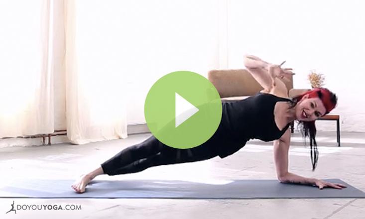 Yoga Shred For Upper Body Transformation VIDEO