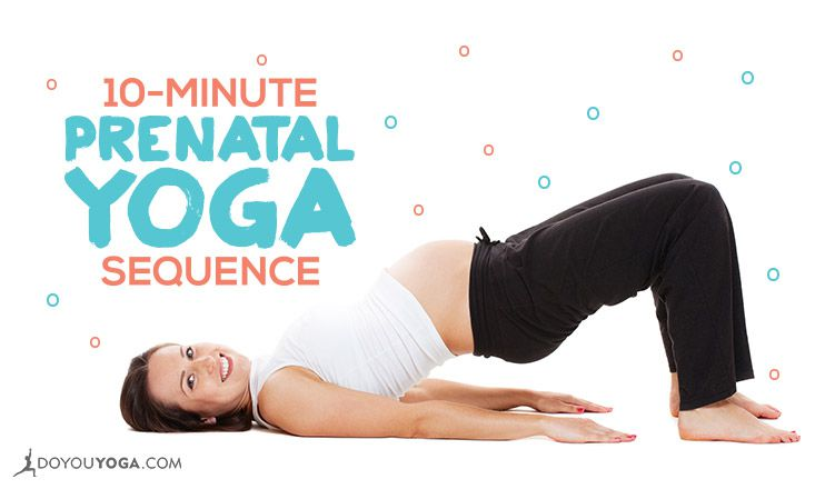 10-Minute Yoga Sequence for Pregnant Yogis