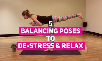5 Balancing Yoga Poses to De-stress and Relax Your Mind