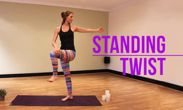 How To Do A Standing Twist