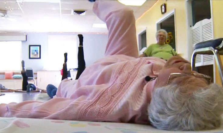 104-Year-Old Yogi Still Teaching and Thriving