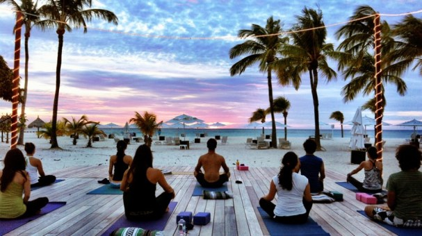 Yoga retreat in Aruba