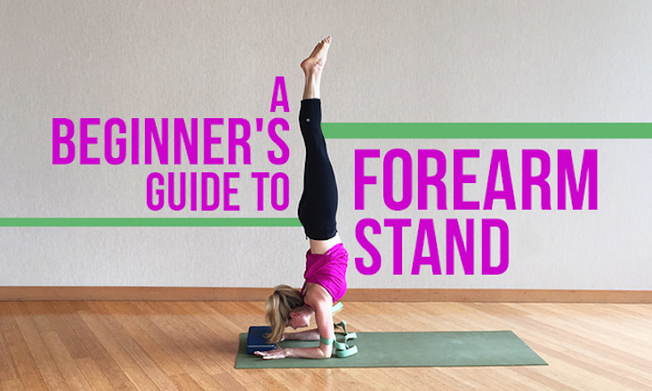 A Beginner S Guide To Forearm Stand Doyouyoga