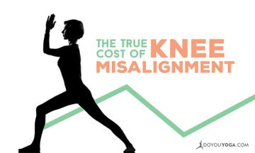 How to Avoid Knee Misalignment in Yoga Practice