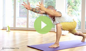 Yoga to Ease Back Pain (VIDEO)