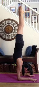 5 tips to move into forearm stand -- forearm stand