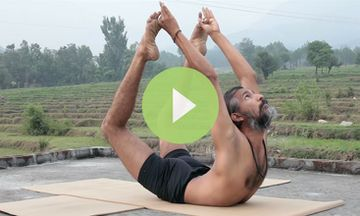 Advanced Hatha Yoga Practice by Babu Raj (VIDEO)