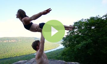 This AcroYoga Routine Shows the Fun Side of Flying (VIDEO)