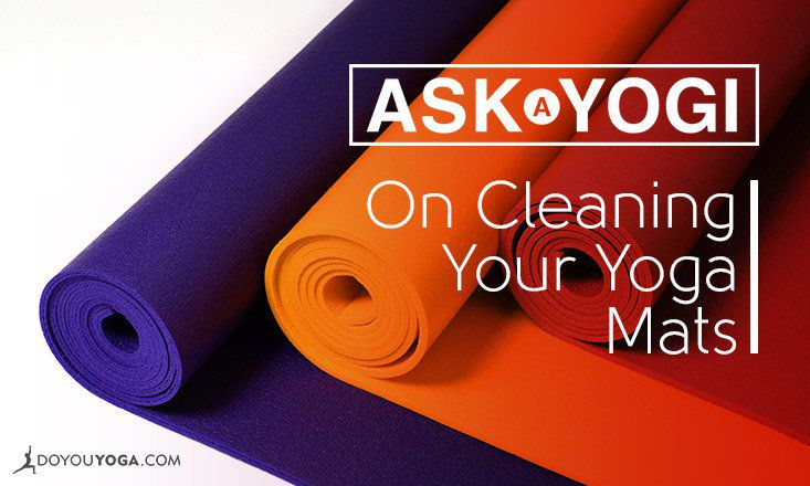 What is the Proper Way of Cleaning a Yoga Mat?