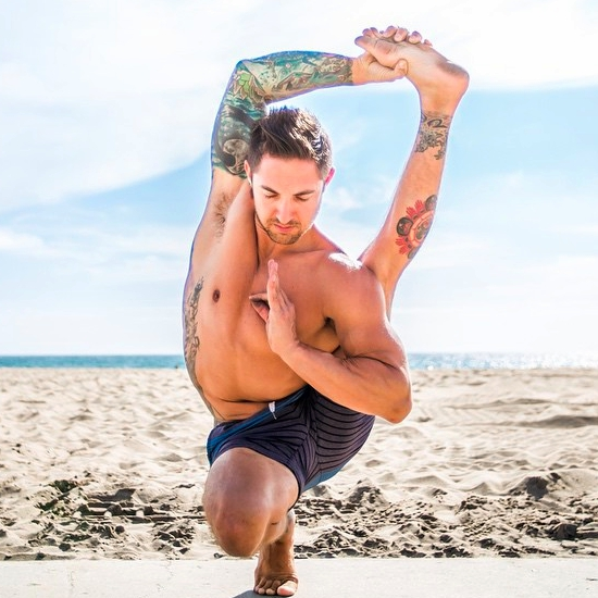 @dylanwerneryoga uses selfies to spread information through his #inspirationgenerationchallenge and education through a breakdown of the featured pose.