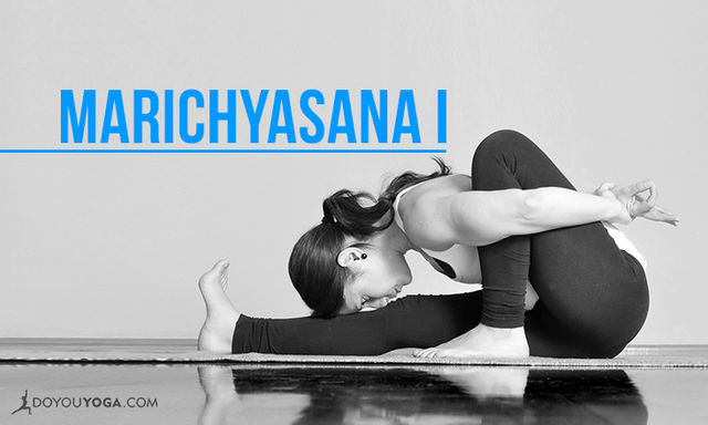 How to do Marichyasana I - Marichi's Pose I