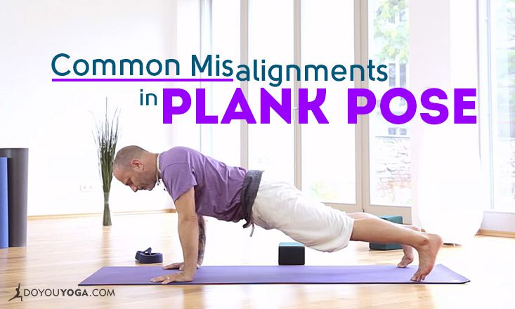 3 Common Misalignments in Plank Pose (And How to Fix Them)