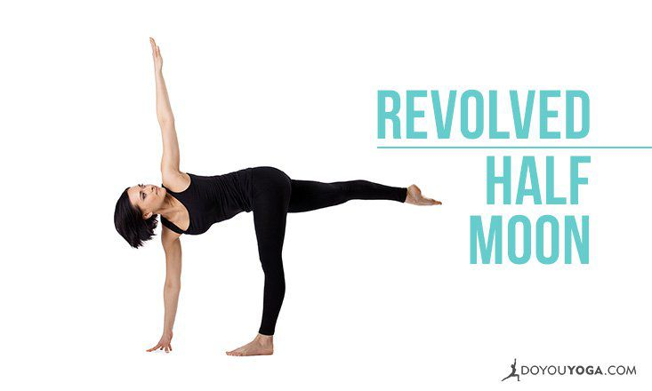 How to do Revolved Half Moon Pose