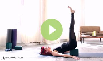 Restorative Yoga with Sadie Nardini (VIDEO)