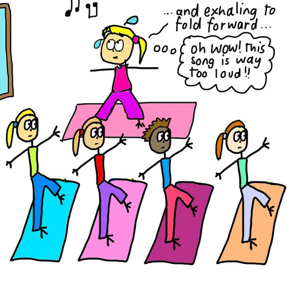 What It's REALLY Like to Teach a Yoga Class (Illustrated) 25