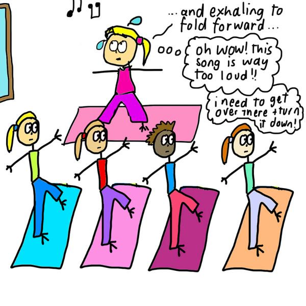 What It's REALLY Like to Teach a Yoga Class (Illustrated) 26
