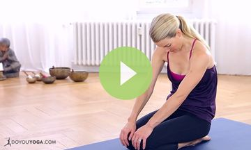Yoga to Relieve Back Pain with Kristin McGee (VIDEO)