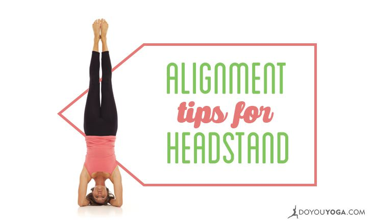 Alignment Tips for Headstand